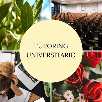 TUTORING UNIVERSITARIO
